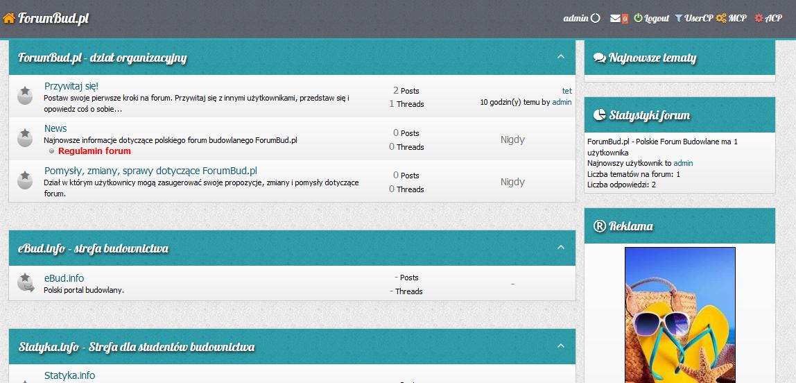 ForumBud.pl - wkrótce otwarcie